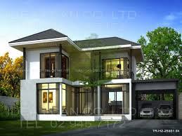 House Design 2 Storey Modern Modern 2 Story House Plans Modern Contemporary House Design