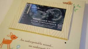 hallmark recordable sonogram frame