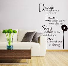 Small Picture Living Room Wall Stickers Quotes Nakicphotography