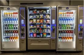 Types Of Vending Machines List