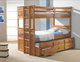 wonderful twin bunk bed trundle bunk beds design home gallery within wooden bunk bed with trundle popular