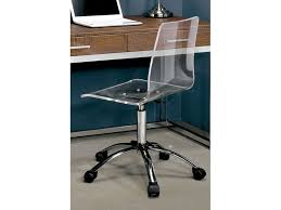 Image Fc640 The Furniture Mall Acrylic Office Chair