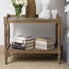 Weathered Oak Furniture Radnor Large Weathered Oak Sofa Side Table Oka