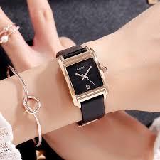 <b>2018 New Guou</b> Fashion Women Square Bracelet Wristwatch ...
