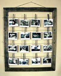 collage picture frames black 8x10 5x7 wood frame with 5 openings and