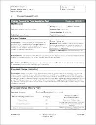 Change Management Template Free New It Change Request Template Hergartenco