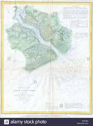 Seabrook Island Tide Chart E No 3 Preliminary Chart Of North Edisto River English A