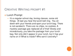 Writing Prompts  Do you have students that say     I don     t