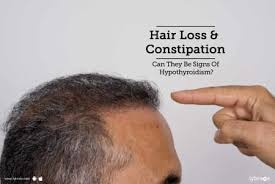 hair loss constipation can they be