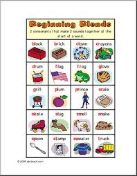 Blends And Digraphs Chart Free Printable Phonics Blends Digraphs Etc Color Mini Office I