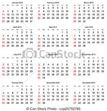 Annual Calendar 2015 Calendar 2015 Year
