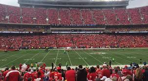 Kansas City Chiefs Seating Guide Arrowhead Stadium