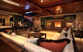 Modern Living Room Wallpaper Contemporary Design Living Room Widescreen Wallpaper Wide