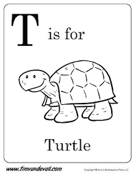 Letter T Animal Coloring Pages Avatherminfo