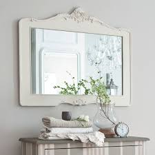 Bathroom White Mirrors Canada Wooden Sale With Shelf Wicker - Bathroom mirror design ideas