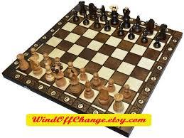 Handmade Wooden Board Games Wooden Chess Carved Chess Handmade Wood Chess Wooden Board Game 4