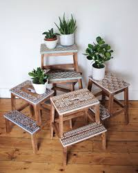 In my latest piece for Reloved Magazine I reinvented five Ikea Step Stools,  ...