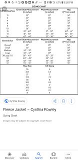 Talbots Plus Size Chart Cynthia Rowley Size Chart Size Chart Cynthia Rowley Chart