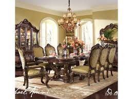 ornate dining room table and chairs. michael amini chateau beauvais 9 piece ornate formal dining room set - hudson\u0027s furniture 7 (or more) table and chairs d