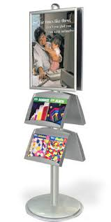 Multiple Poster Display Stands AdjustAStand Poster Display Stand Baanner Display And Brochure 47