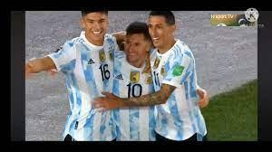 ملخص مباراة الأرجنتين وبوليفيا هاتريك ميسي - YouTube