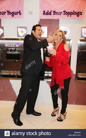 Blizz Yogurt Adrienne Maloof Dr Paul Nassif Real Housewives Of Beverly Hills Bei
