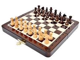 105 Magnetic Wooden Travel Chess Game Amazon House of Chess 100100 Inch Wooden Magnetic Folding 26