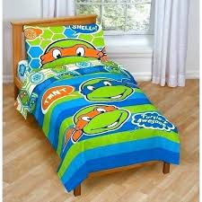 Ninja Turtle Bed Set Turtles Teenage Mutant Twin Double Bedroom Sets ...