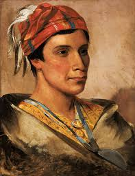daniel bread chief of the oneida indian tribe 1831 george catlin art print