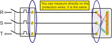 windings of a 3 phase ac motor