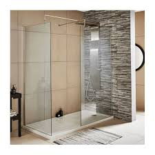 Diamond Walk In Shower Enclosure - 8mm Glass (Left or Right Hand Entry)