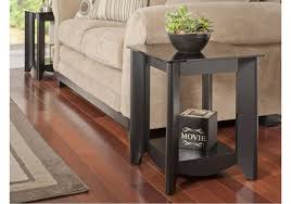 economize space with a small end table