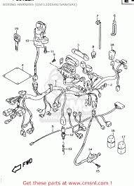 suzuki gsf1200s 1998 w e02 e04 e17 e18 e22 e24 e25 e34 wiring wiring harness gsf1200sav saw sax schematic