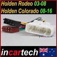 car audio & video wire harnesses for holden colorado ebay Colorado Wire Harness holden colorado rc 2008 2012 iso wiring harness cable connector lead plug aus 2015 colorado trailer wire harness