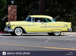 A 1955 Chevy 2 door hardtop Stock Photo, Royalty Free Image ...