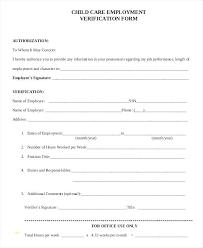 employment dates verification employment verification form template employment template for