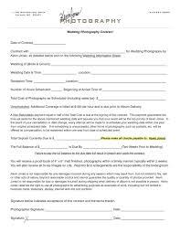 Wedding Contract Wedding Photography Contract Kevin Jones Photography Contract 6