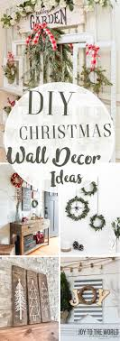 diy wall decor ideas adding holiday cheers to your home s walls