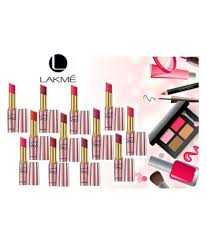lakme imported 9 to 5 set of 12 lipstick multicolour 44 gm