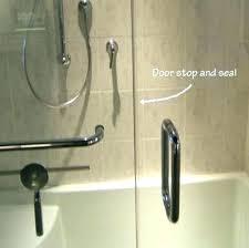 shower door bottom seal shower door leaks at bottom stunning shower door bottom seal shower door