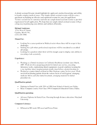 9 10 Objective For Dental Assistant Resume Formatmemo
