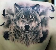 Vlk Tetování Vzorjpg Motivy Tetování Vzor Tetování