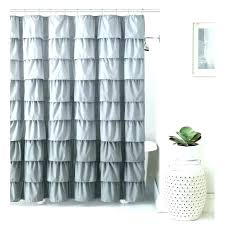 gray and c shower curtain teal ruffle liner silver fabric navy curtains