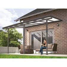 patio covers uk. Beautiful Covers Palram Feria Patio Cover 3x42 Grey And Covers Uk R
