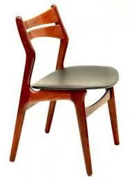 danish vine set x 6 erik buch teak chairs 20th century scandinavia