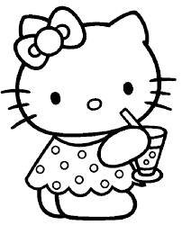 Small Picture Cartoon coloring pages hello kitty ColoringStar