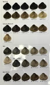 Issue Professional Color Chart Ash Green Hair Color Chart Bedowntowndaytona Com