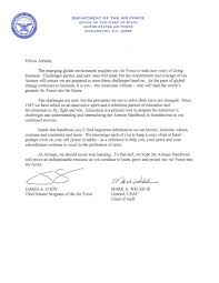 Letter Of Recommendation Air Force Academy Example Unforgettable Air