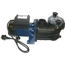 Pompe De Piscine Avec Pr Filtre Aqualux 9 5 M H Leroy Merlin