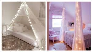 fairy lights and canopy bed teenage girls bedroom latest trend 2018 4wellbeing